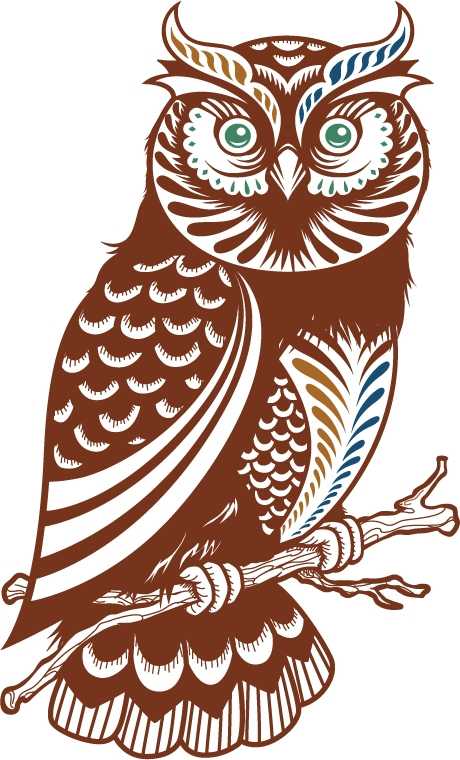 Owl sharing wisdom